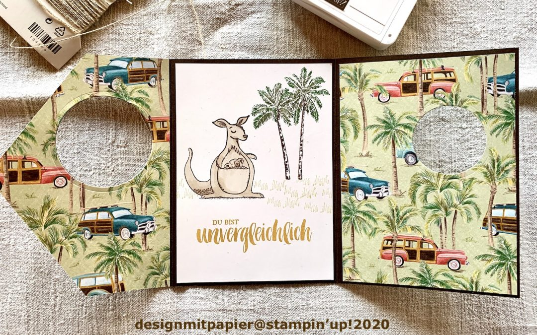 SUper Sonntag #66 Peek a Boo Flap Card