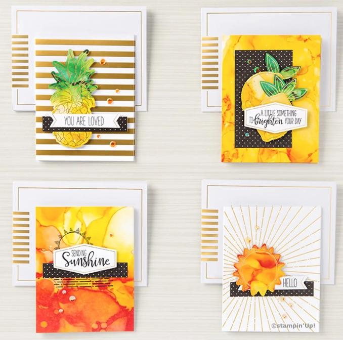 Kartenbeispiele Paper Pumpkin