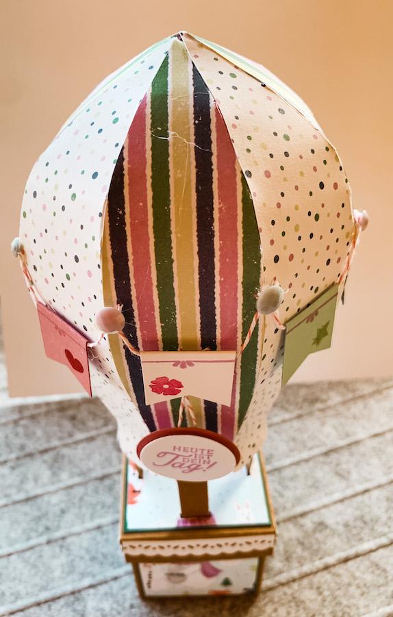 Heissluftballon für Kinder! Kinder!