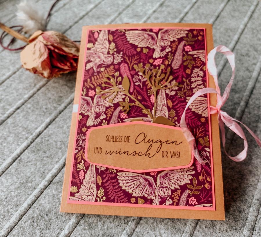 Fun Fold Card Herbst